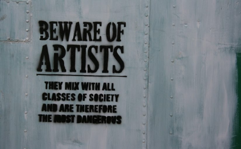 Beware of Artists & Things You Want to be True